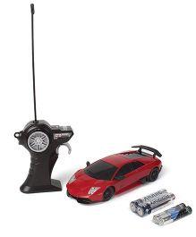 Maisto Murcielago LP 670 4 SV Remote Control Car - Red/Yellow