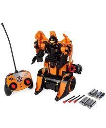 Maisto Twist And Shoot Remote Control Vehicle - Orange & Black