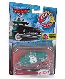 Disney Pixar Sheriff Color Changer Car - Green
