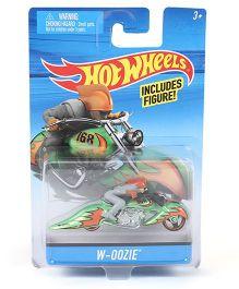 Hot Wheels W-Oozie Toy Bike Multicolour - 8 cm