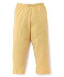 Red Ring Three Forth Leggings - Yellow