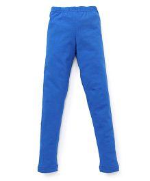 Red Ring Ankle Length Leggings - Blue