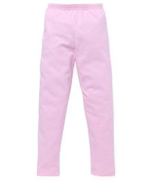 Red Ring Ankle Length Leggings - Light Pink