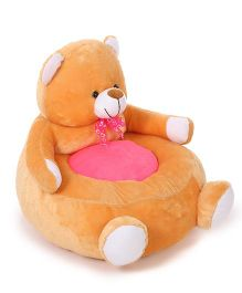 Lovely Teddy Shaped Sofa - Orange