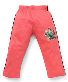 Ben 10 Full Length Track Pants - Coral