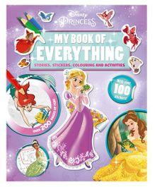 Disney Princess My Book of Everything - English
