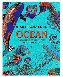 Ocean Colouring To Relax and Free Your Mind - English
