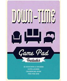 Down Time Game Pad - English