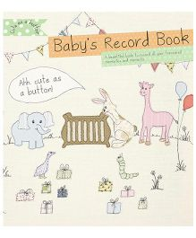 The Baby Record Book - English