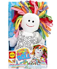 Alex - Color And Cuddle Washable Doll