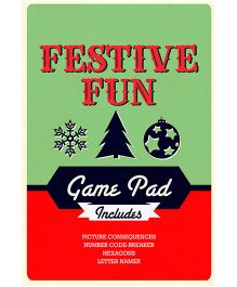 Festive Fun Game Pad - English