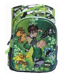 Gamme Ben 10 Alien Froce School Backpack - Green