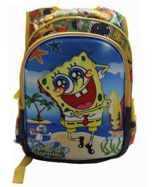 Gamme Spongebob 3D Print School Backpack - Multicolor