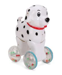 Luvely Press N Go Doggy - White