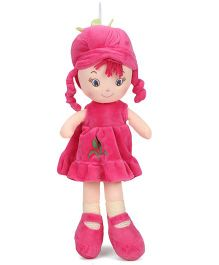 Starwalk Plush Doll Dark Pink - Height 35 cm
