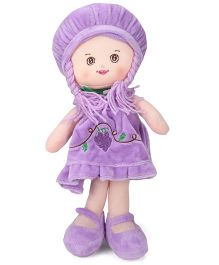 Starwalk Plush Doll Grape Embroidety Violet - 35 cm