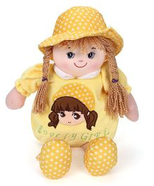 Starwalk Plush Doll Toy Bag Yellow - 50 cm