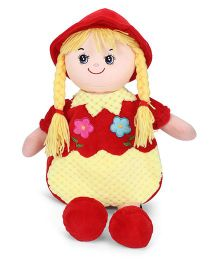 Starwalk Lovely Plush Doll Toy Bag Red Yellow - 50 cm