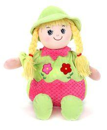 Starwalk Lovely Plush Doll Toy Bag Green Pink - 50 cm