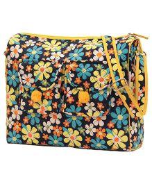 Forefinger's Comfy Flower Mother Bag - Multicolor