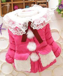 Superfie Beautiful Winter Jacket - Dark Pink