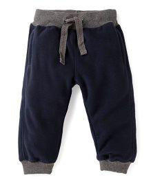Fox Baby Full Length Track Pants - Navy