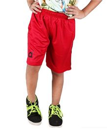 Anthill Zinger Knitted Shorts - Red