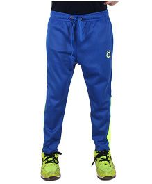 Anthill Hero Track Pants - Royal Blue & Neon Green