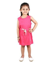 Anthill Sleeveless Varsity Dress - Pink