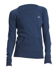 Anthill Full Sleeves Sweat T-Shirt - Navy