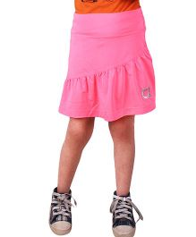 Anthill Poly Lycra Sports Skirt - Pink