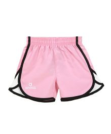 Anthill Escape Woven Shorts - Pink White