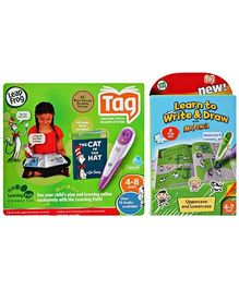 LeapFrog: Tag Reading System Activity Storybook - Learn to Write & Draw with Mr Pencil
