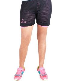 Anthill 2 In 1 Shorts - Black Pink