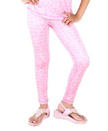 Anthill Brick Printed Track Pant - Pink