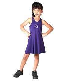 Anthill Sleeveless Swimwear Dress - Purple