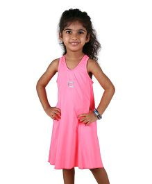Anthill Sleeveless Swimwear Dress - Pink