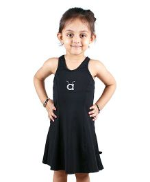 Anthill Sleeveless Swimwear Dress - Black