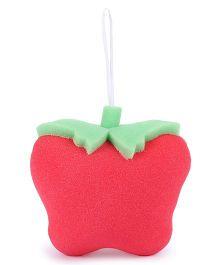 Tomato Shaped Bath Sponge - Red