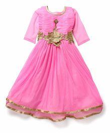 Aarika Angel Gown - Pink