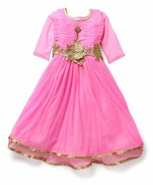 Aarika Angel Gown - Pink