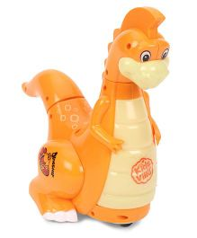 Imagician Playthings Kids Villa Bump N Go Buddy Dinosaur - Orange