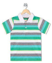 Raine And Jaine Boys Polo Tee - Multicolor