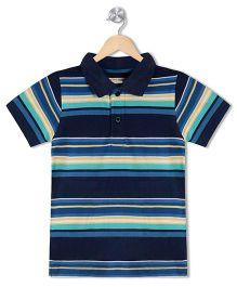 Raine And Jaine Boys Polo T Shirt - Navy Blue