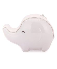 Elephant Shaped Night Lamp - White