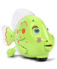 Imagician Playthings Kids Villa Swing N Glow Fish - Green