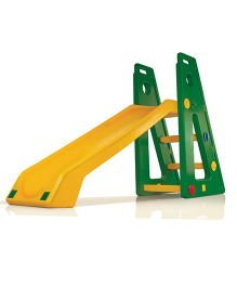 OK Play Baby Slide Senior - Green Yellow