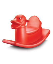 OK Play Duck Rocker - Red
