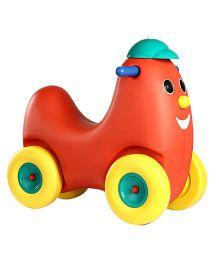 OK Play Humpty Dumpty Ride On - Red