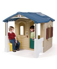 Step2 Naturally Playful Front Porch Playhouse - Multi Color